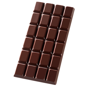 100% Madagascar Dark Chocolate Bar