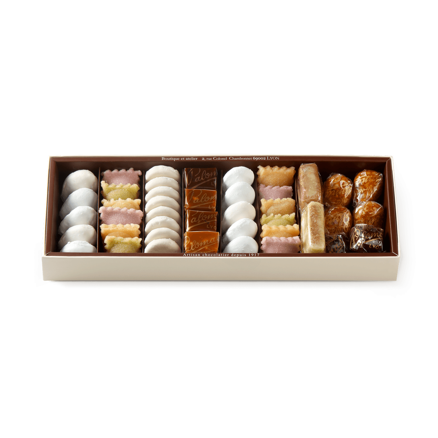 Assortment of Confectioneries Box of 52 pieces