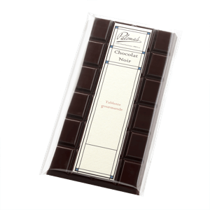 Palomas Dark Bar Orange & Orange Blossom Marzipan 110g