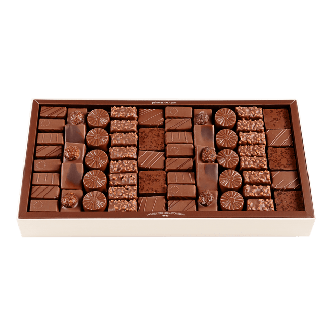 Chocolate Assortment Milk 1kg box
