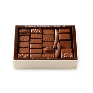 Palomas Chocolate Assortment Milk 375g box
