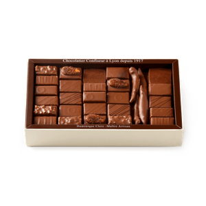 Palomas Chocolate Assortment Milk 500g box