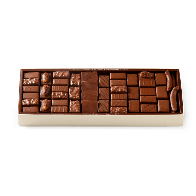 Chocolate Assortment Milk 750g box