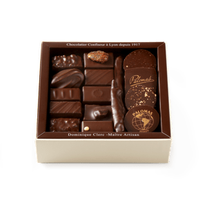 Palomas Chocolate Assortment Dark 250g box