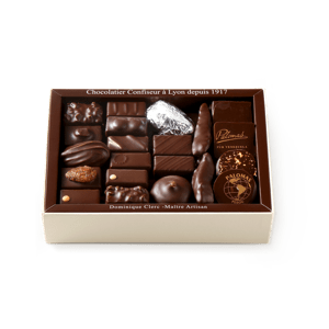 Palomas Chocolate Assortment Dark 375g box
