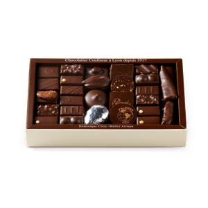 Palomas Chocolate Assortment Dark 500g box